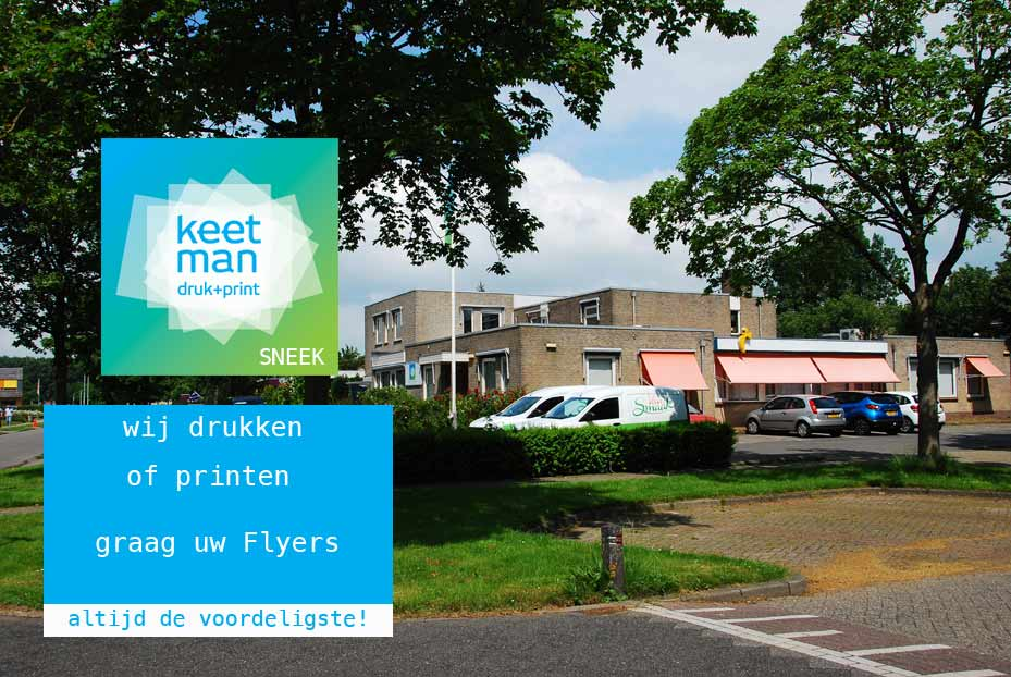 Flyers drukken Sneek - flyers-printen